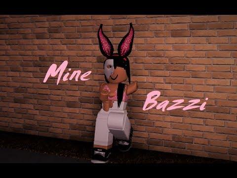 Mine- Bazzi (Clean) ROBLOX Music Video