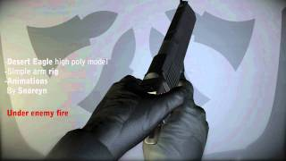 Desert Eagle Draw animations