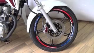 friso refletivo honda hrc tricolor e faixa de sobreposio moto honda titan fan 150