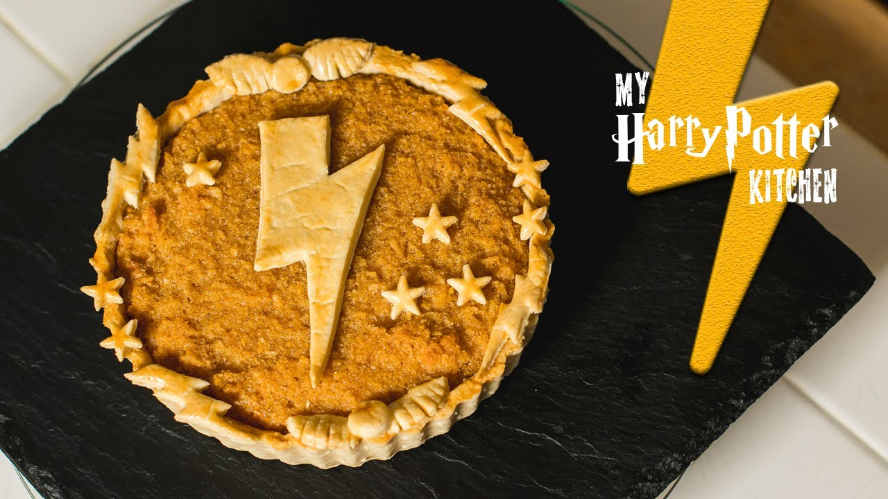Harry Potter Treacle Tart Recipe My Harry Potter Kitchen Ep 40 Youtube
