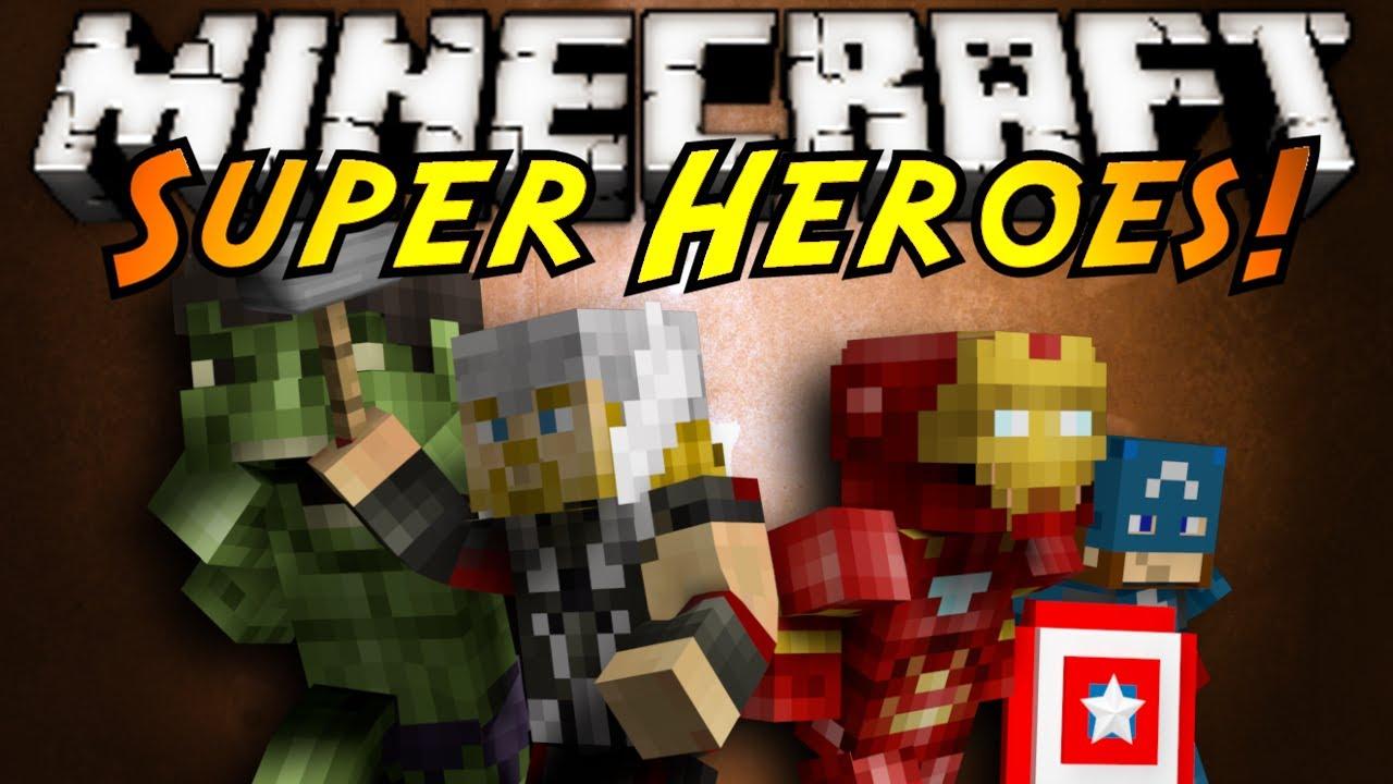 Minecraft mod showcase super heroes youtube