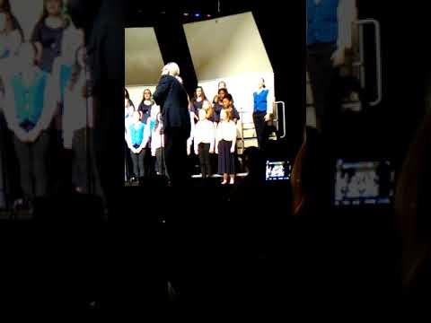Peasley Middle School chorus