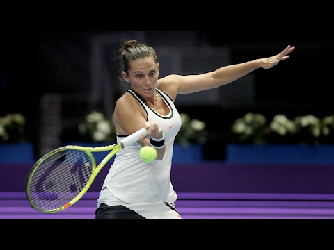2017 St. Petersburg Ladies Trophy Second Round | Roberta Vinci vs Andrea Petkovic | WTA Highlights