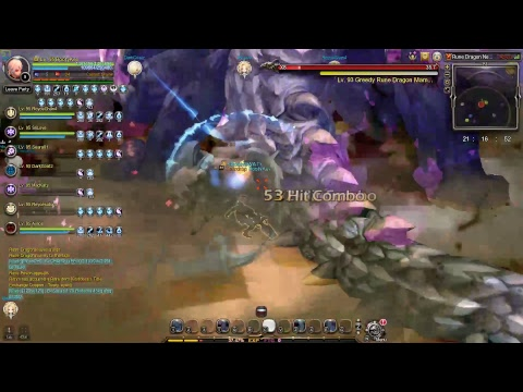 Dragon Nest SEA Rune Dragon Nest Hardcore Service 4 Man Gladiator Pov