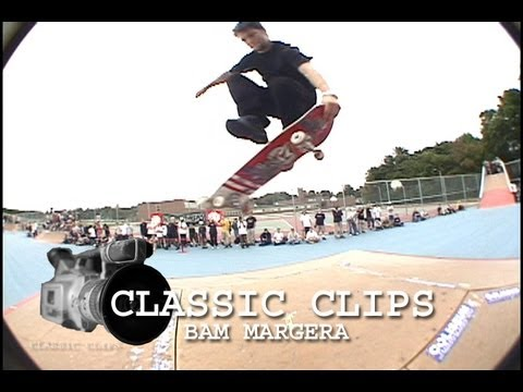 09521007f1fd Bam Margera Old Skateboarding Classic Clips  22 HIM - YouTube