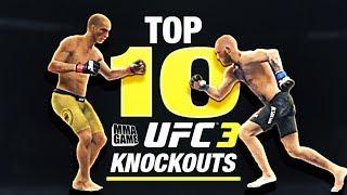 EA SPORTS UFC 3 - TOP 10 UFC 3 KNOCKOUTS - Community KO Video ep. 3