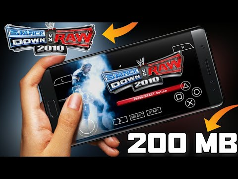 [200 MB] DOWNLOAD WWE SVR 2010 ISO PPSSPP GAME FOR ANDROID