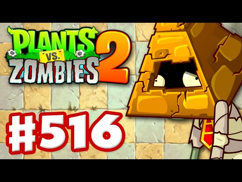 Plants vs. Zombies 2 - Gameplay Walkthrough Part 516 - New Ancient Egypt Levels! (iOS)