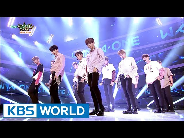 Wanna One - Energetic | 워너원 - 에너제틱  [Music Bank / 2017.08.25]