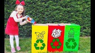 Öykü Play Universal Waste clean the garden- Funny Kid