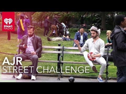 "AJR Play Pranks (Live & Random!) In The ""I'm Not Famous"" Challenge | Artist Challenge"