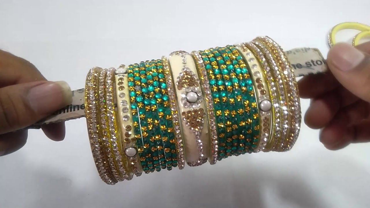 bangles set | #bangles #bangles set #wedding bangle! Plain glass green and red bangles set bridal