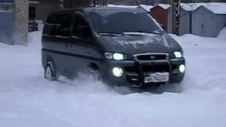 Hyundai H1 Starex 4x4 смотреть