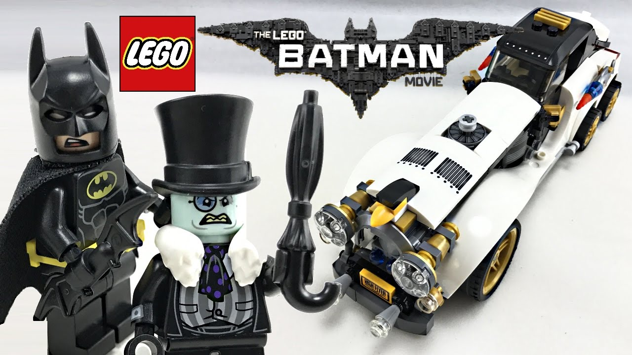 Lego Batman Movie Penguin Arctic Roller Review 2017 Set 70911 Youtube