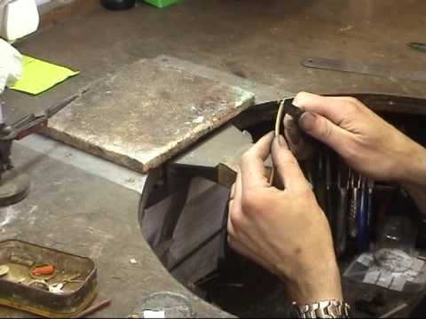 How to melt up scrap gold and make two wedding rings
