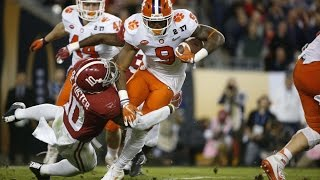 Wayne Gallman (Clemson) vs. Alabama (2016)