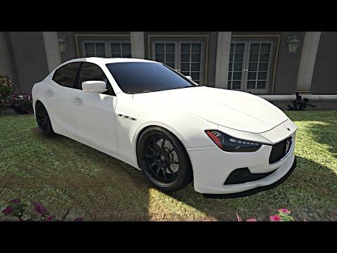 GTA 5 - Maserati Ghibli S
