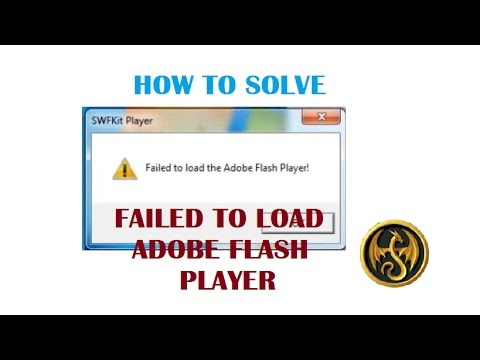 = AQW = HOW TO SOLVE FAILED TO LOAD FLASH PLAYER IN LE.BOT 2017