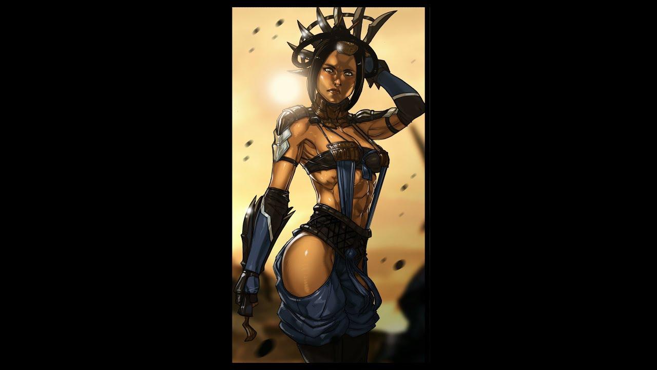 Mortal Kombat X Kitana Costumes And Locations How To 1080 Hd Youtube