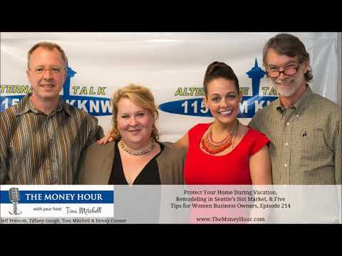 Protect Your Home on Vacation, Remodeling in Seattle, & Tips for Women Business Owners, Episode 214