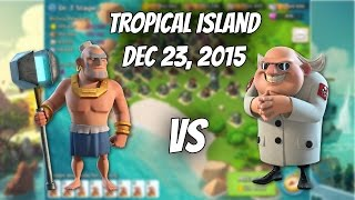 Dec. 23, 2015 Dr. T, all stages with Warriors Unboosted - Boom Beach