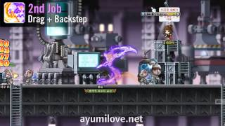 Ayumilove MapleStory Shade Eunwol 1st 2nd 3rd 4th Job Skills Preview