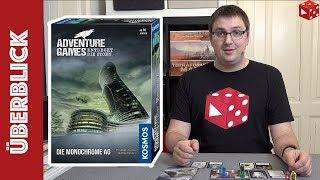 Die Monochrome AG - Adventures Games ●  (Phil Walker-Harding / Matthew Dunstan, KOSMOS 2019)