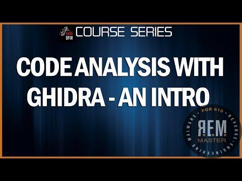Ghidra Code Analysis with Anuj Soni
