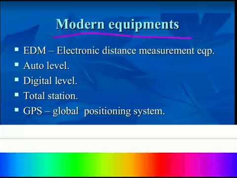 Surveying_Modern Surveying Instruments