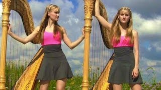ONLY TIME (Enya) Harp Twins - Camille and Kennerly