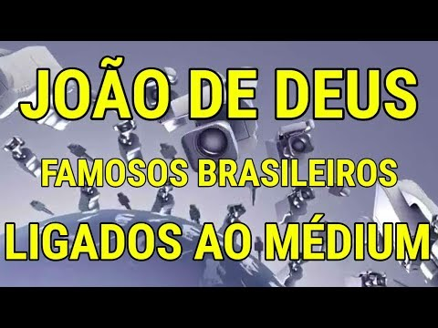 CONFIRA! Famosos brasileiros ligados ao médium João de Deus