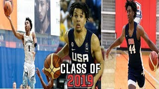 Top 10 Highschool Basketball Players In The NATION! (Class of 2019)