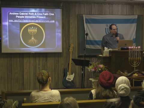 Shabbat Special  Andrew Gabriel Roth: Bible Origins. Part 1