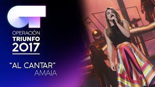 Смотреть клип Amaia - Al Cantar