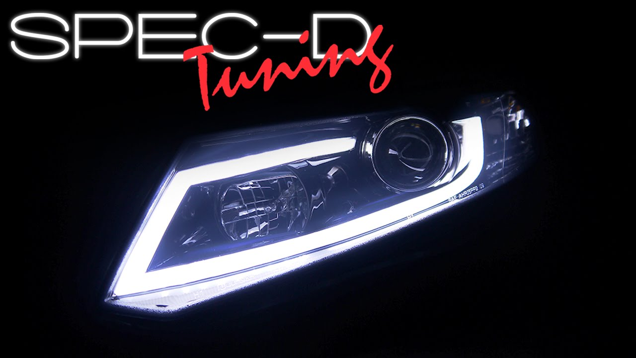 Specdtuning Demo Video 2012 2015 Honda Civic Led