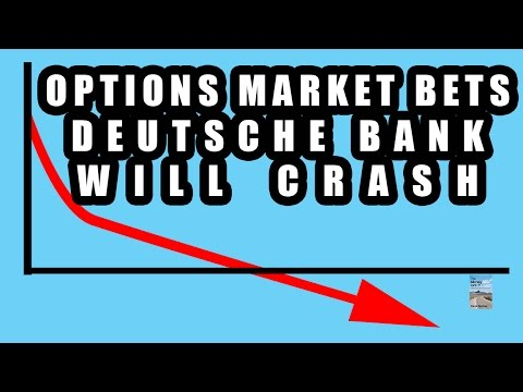 Options Market Predicts Deutsche Bank Stock Will CRASH! Bank Holiday and Capital Controls!