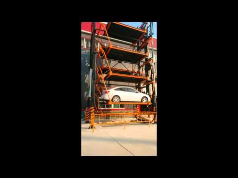 China Supplier Car Parking Equipment Machine/Vertical Cycle Type Parking System