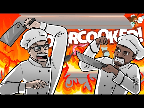 EVERYTHING IS GOING TO SH*T!! - Overcooked Co-op Gameplay