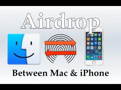 AirDrop between iOS & Mac [HOW TO]