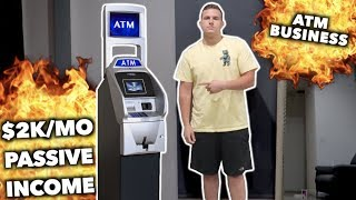 How An ATM Can Make You Thousands A Month (With No Work)