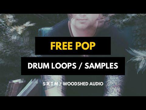 Free Pop Drum Loops - Tastemaker Vol 1 - Preview (Woodshed Audio)