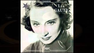 "Lys Gauty_""A Paris, Dans Chaque Faubourg "" パリ恋しや"