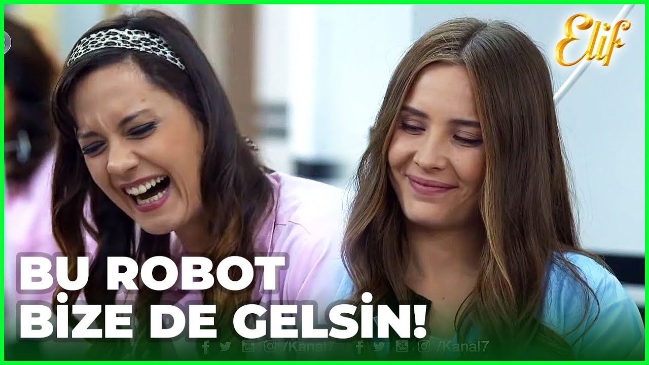 Elif'in Robot'u Eğlence Kaynağı Oldu! - Elif Dizisi 415. Bölüm