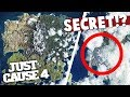 JUST CAUSE 4 OFFICIAL MAP REVEAL *SECRET MESSAGE* on the interactive map?!