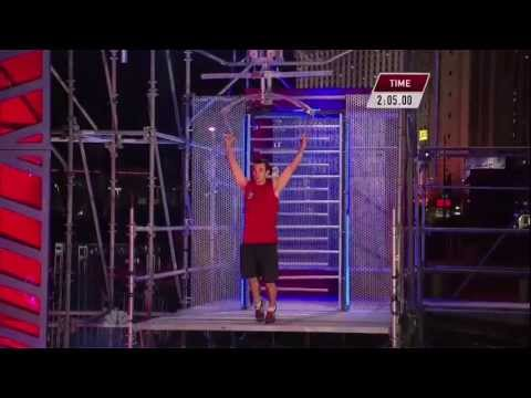 Joe Moravsky at American Ninja Warrior 2013 National Finals Stage 2