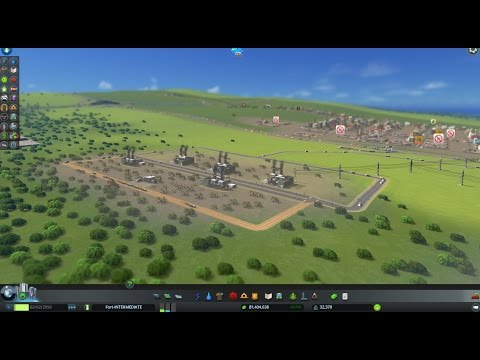 Cities: Skylines HeightMapped 25-Tile Intermediate Series EP#43-GAMEPLAY  CONTINUES