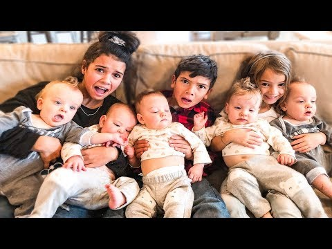 We ADOPTED Quintuplets! Parenting Swap