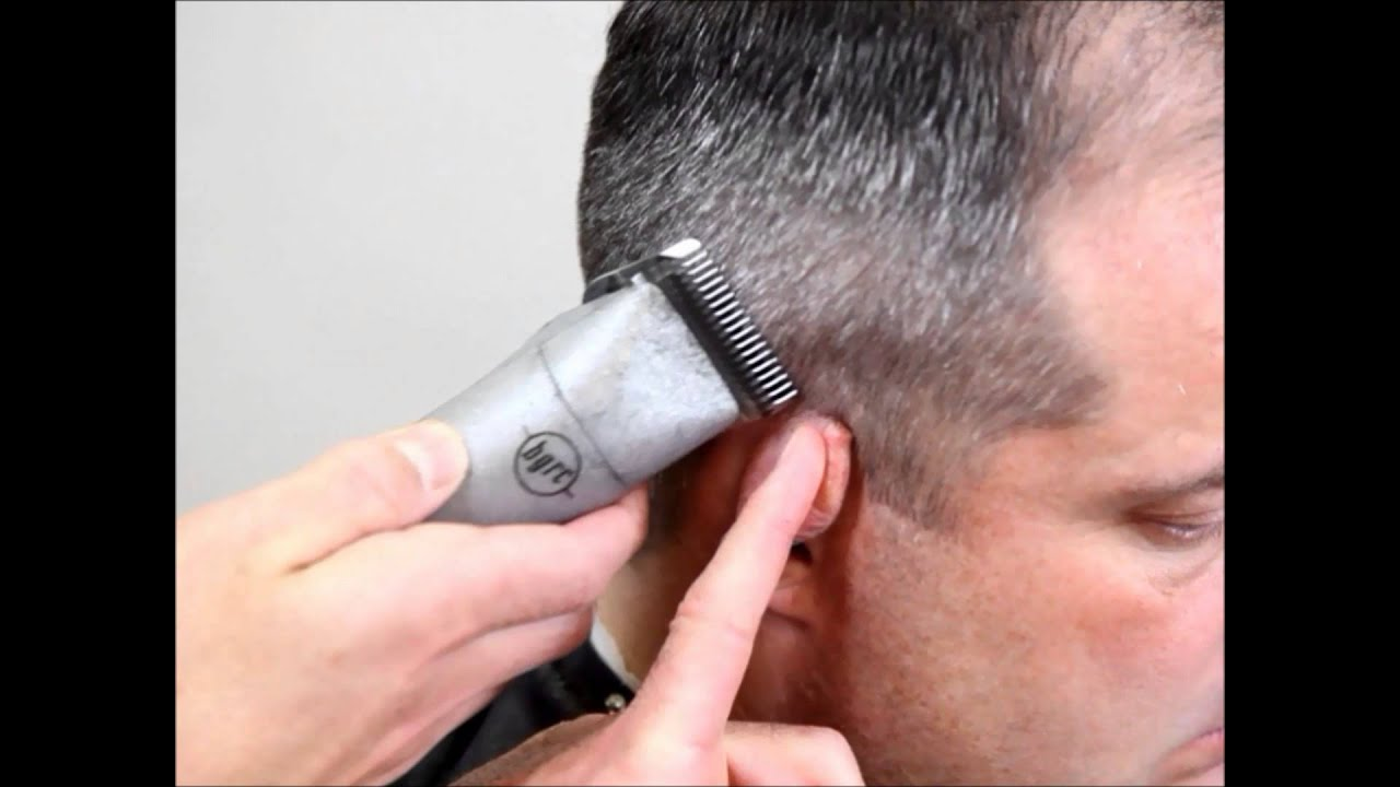 How To Fade Hair Military Officers Haircut Youtube