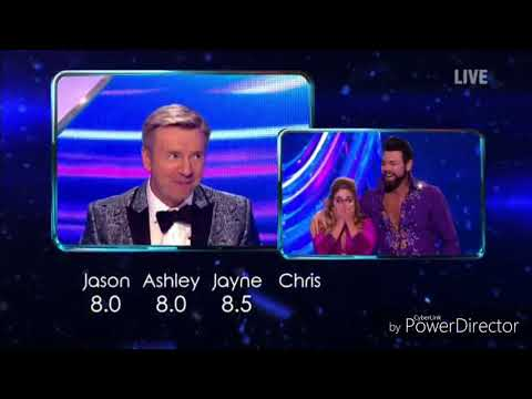 Brian McFadden and Alex Murphy skating in Dancing on Ice (Time Tunnel Week) (24/2/19)
