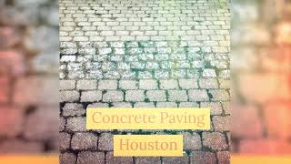 Concrete Paving At Revitalize Parking Lot Striping Houston